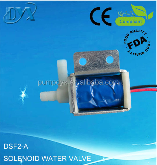 Mini electric 3 way water valve