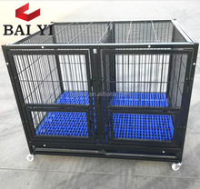 Double Tiers Large Dog Cage Kennel For USA