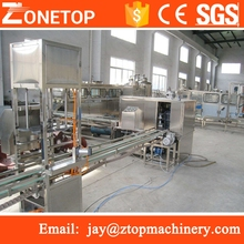 Auto outside washing 5 gallon barrel bottle rinser/20l mineral water filling machine/automatic bucket washer