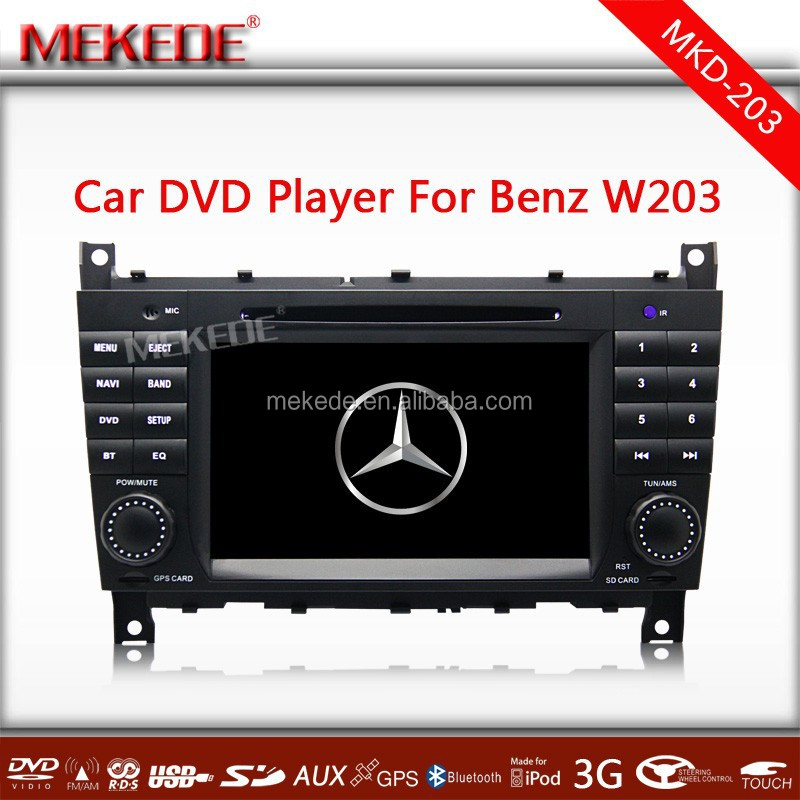 Car DVD GPS for Benz Mercedes W203 W209 C Class CLK 2004-2011 Navigation Radio Player
