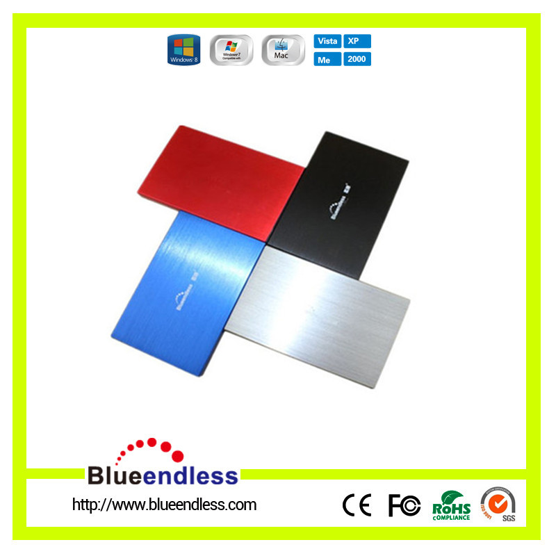 USB 3.0 SATA 2.5 inch HDD Box Case , Hard Drive External Enclosure