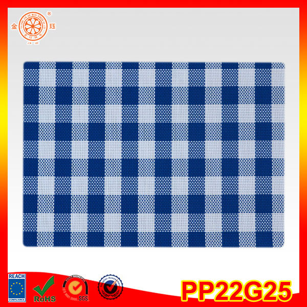 hotel kitchen long table dish mat pvc vinyl woven placemat material swimming pool anti slip mat long size