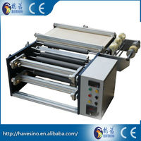 China Professional thermal transfer ribbon mini slitter rewinder