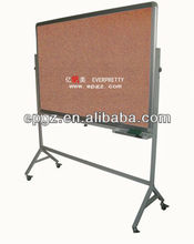school notice pin board with stand/soft board for training room/public board design