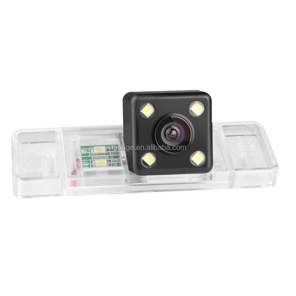 XTRONS 160 degree HD Rear View Reversing Camera Specially Designed for Peugeot 301 / 308 / 408 / 508