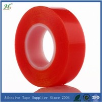 10mm X 50M Transparent Double Sided PET Heating Film With Adhesive Tapes