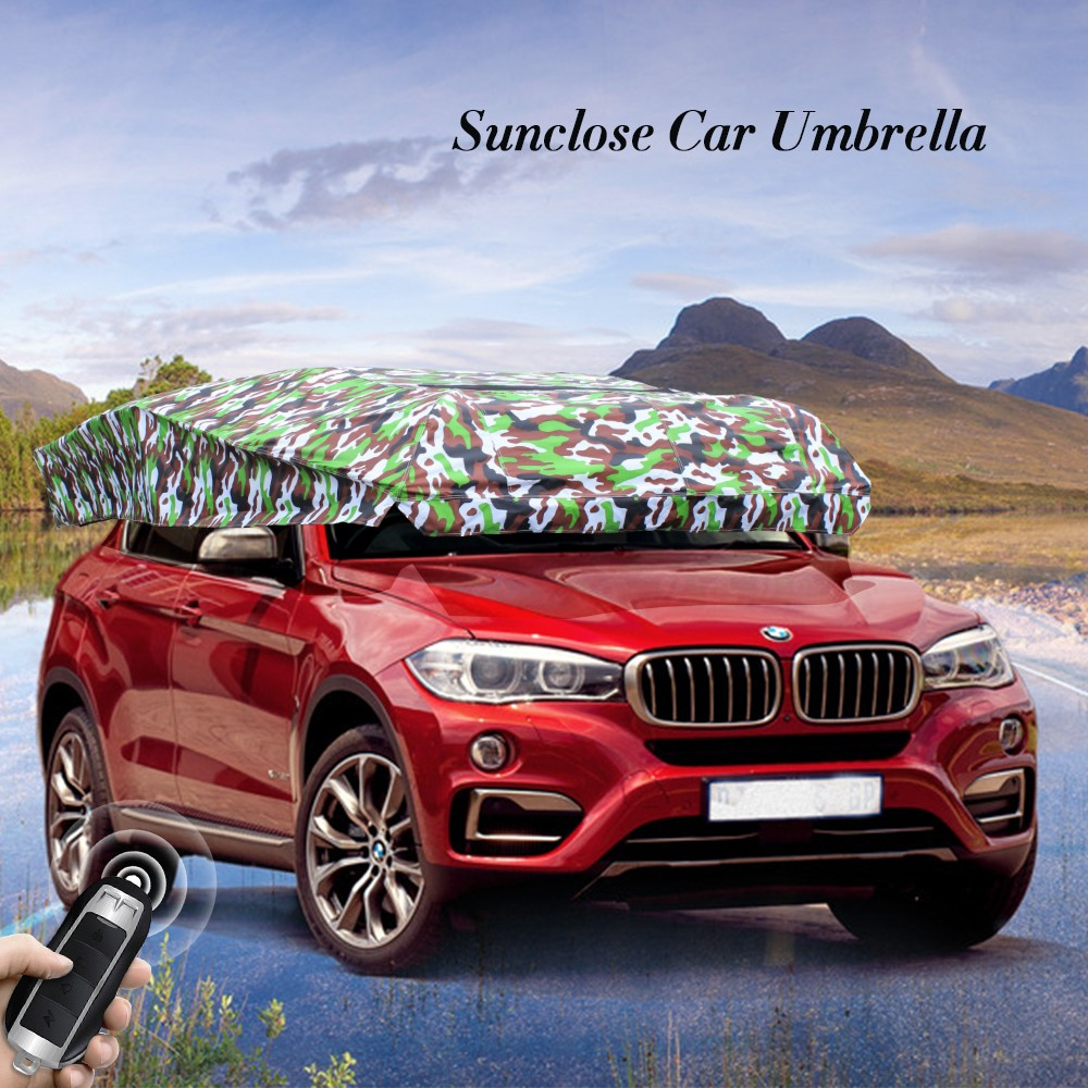 SUNCLOSE Factory honsen promotional cap umbrella 10 x 20 car canopy car seat heated cushion