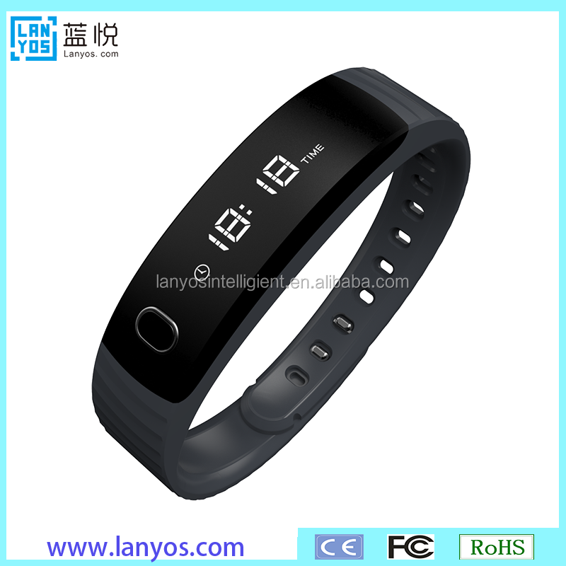 2016 new smart bracelet heart rate monitoring smart watch multi-function silicone band heart rate watch with heart rate monitor