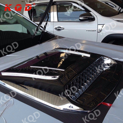 New design perfect fitment auto engine hood cover for 2015 toyota hilux revo