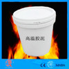 Furnace construction high temperature adhesive