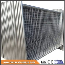 Movable fencing portable mobile metal fence panel