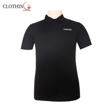 CVC designs men Polo shirt with short sleeve and embroidery for gym
