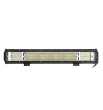Youstar 20inch 144w led tri rows light bar 4x4 off road led work light Tractor OffRoad ATV Truck Driving