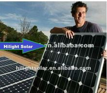 280w pv solar panel for 1mw solar power plant and solar system