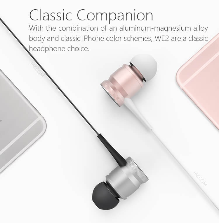 Jakcom WE2 Wearable wireless Headphones 2019 New Product Of Earphones Headphones as latest 5g mobile phone electronics earphone