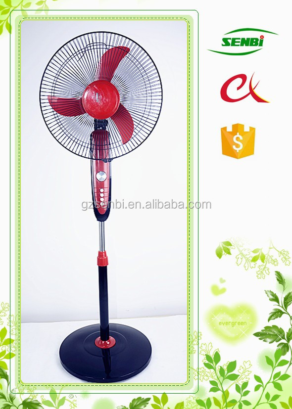 Best quality new design 16inch electric double use AC DC 12v 110v stand fan