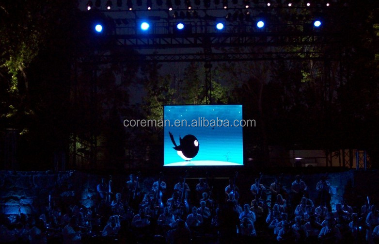 P3.9 rental led screen stage background led display big screen p3.91