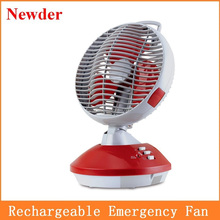 "8"" rechargeable air cooler oscillating fan MODEL 2302"
