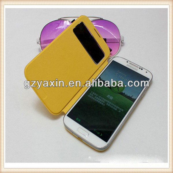 Luxury Leather Case for Samsung Galaxy S4 mini Case With Stand,Bumper Case for S4 Mini Samsung Galaxy S4