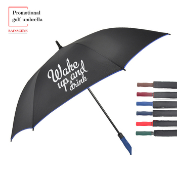 Custom Made Brand Name Windproof Promotional Golf Umbrella