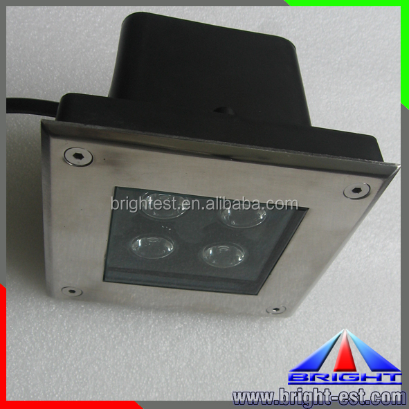 9W LED Inground Uplight, Exterior In Ground LED Lighting, IP67 Floor LED Light Landscape
