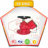 2016 factory price oblique fire hydrant valve with flange