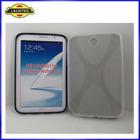 X Line TPU Gel Case for Samsung Galaxy Note 8.0 N5100 N5110,2013 New arrival---Laudtec