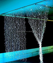 wholesale led twinkle net lights/cheap decorative/light curtain for wedding