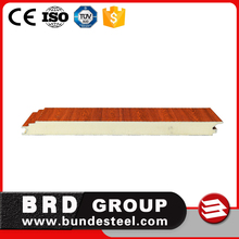 Thermal insulation cheap price roof wall 30mm pu sandwich panel