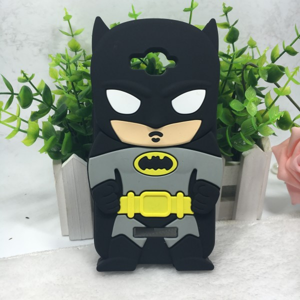 3d cartoon BATMAN Silicone mobile phone case for alcatel ot7040d c7