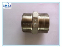 BSPT/BSP/NPT thread Stainless Steel 304/316 Hex Nipple Direct FACTORY