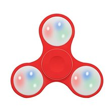fidget toys Fidget Hand Spinner LED Light Up Switch Control Ultra High Speed Long Spin Time Glow in the Dark EDC fidget spinner