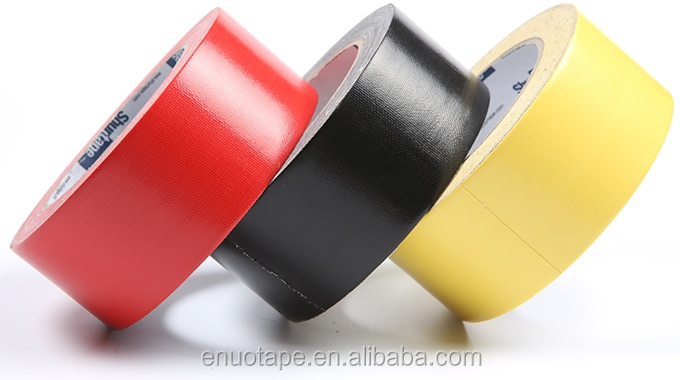 Hotmelt Rubber Pipe bundling Carton Sealing Colorful Cloth Duct Tape