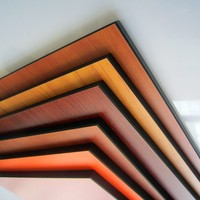 glossy surface high density solid phenolic resin panel