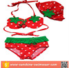 Custom Swimwear Strawberry Sexy Little Girls Bikini