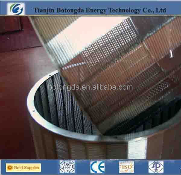 Stainless Steel Mine Sieving Mesh/steel Filter/wedge wire screen