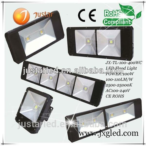 Brand new ce rohs 100w led tunnel light casing/housing seld for wholesales JX-FL-400W ip65 400w led flood light