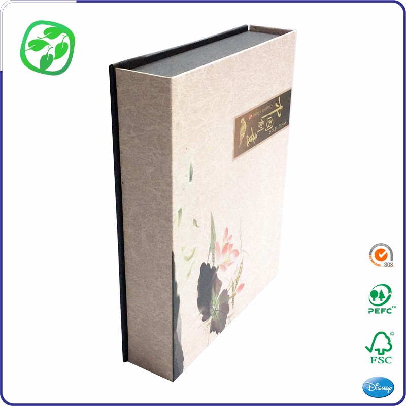 magnet foldable paper box rigid luxury shenzhen gift box
