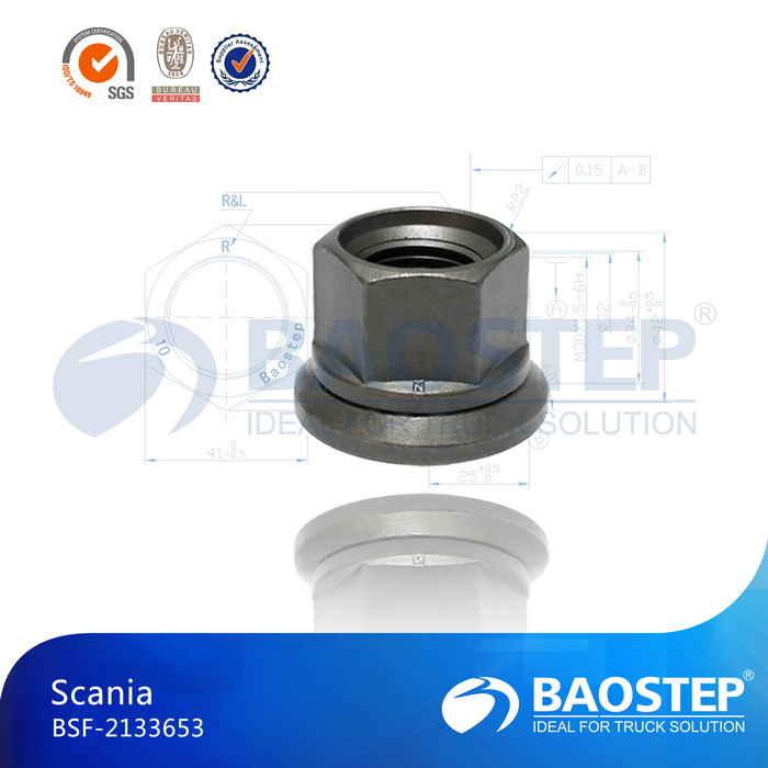 Automobile Wheel Nut for Scania
