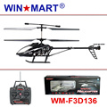this month's special WM-F3D136 3.5ch gyro 50cm rc helicopter wholesale 10 pcs/ctn