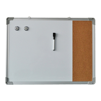 Aluminum frame magnetic school whiteboard