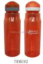 Logo printed plastic eco-friendly sports drinking water bottle