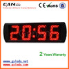 [Ganxin] 5inch home decoration Digital screen Clock LED Display for Indoor Usage