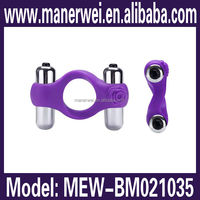 New coming strong power with double motors cock ring for small penis sex toy pussy for men