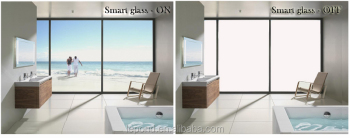Intelligent dimming glass smart glass