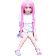 Japanese Silicone Vagina Pussy Real Feel Sexy Toys Male Masturbator 100cm Flat-chest 3D Love Mini Sex Doll