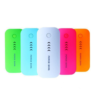 Power bank tube travel chargers external battery 5600mah emergency universal backup cell phone