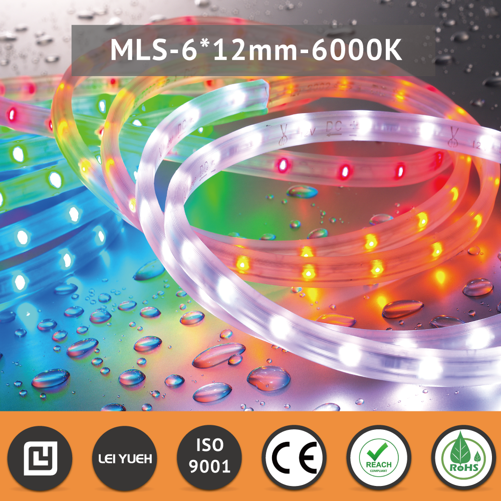 Worldwide patent 12V 24V IP67 OEM 6000K led ceiling lights strip