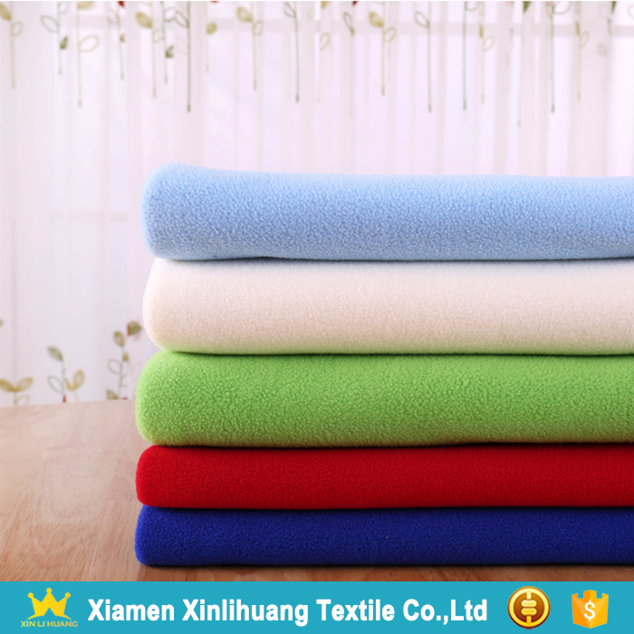 New Product Cheap Knitted 100 Polyester Anti Pilling Micro Polar Fleece Fabric