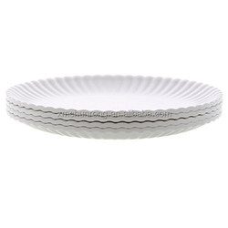 "White ""Paper"" Plate/Melamine Plate/Plate/Dish"